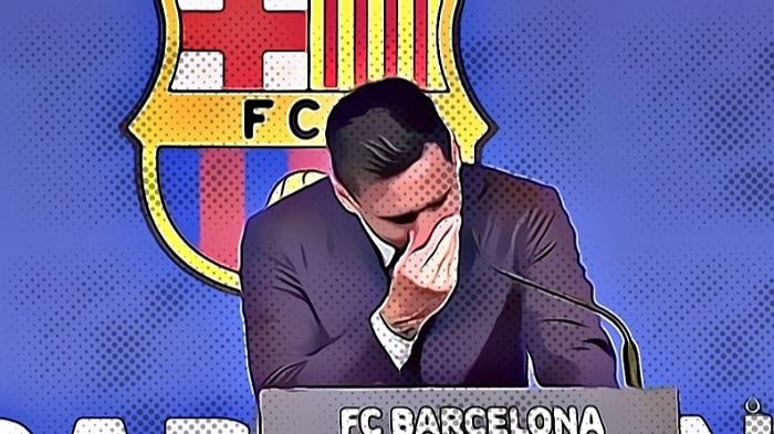 Lionel Messi Tinggalkan Barcelona